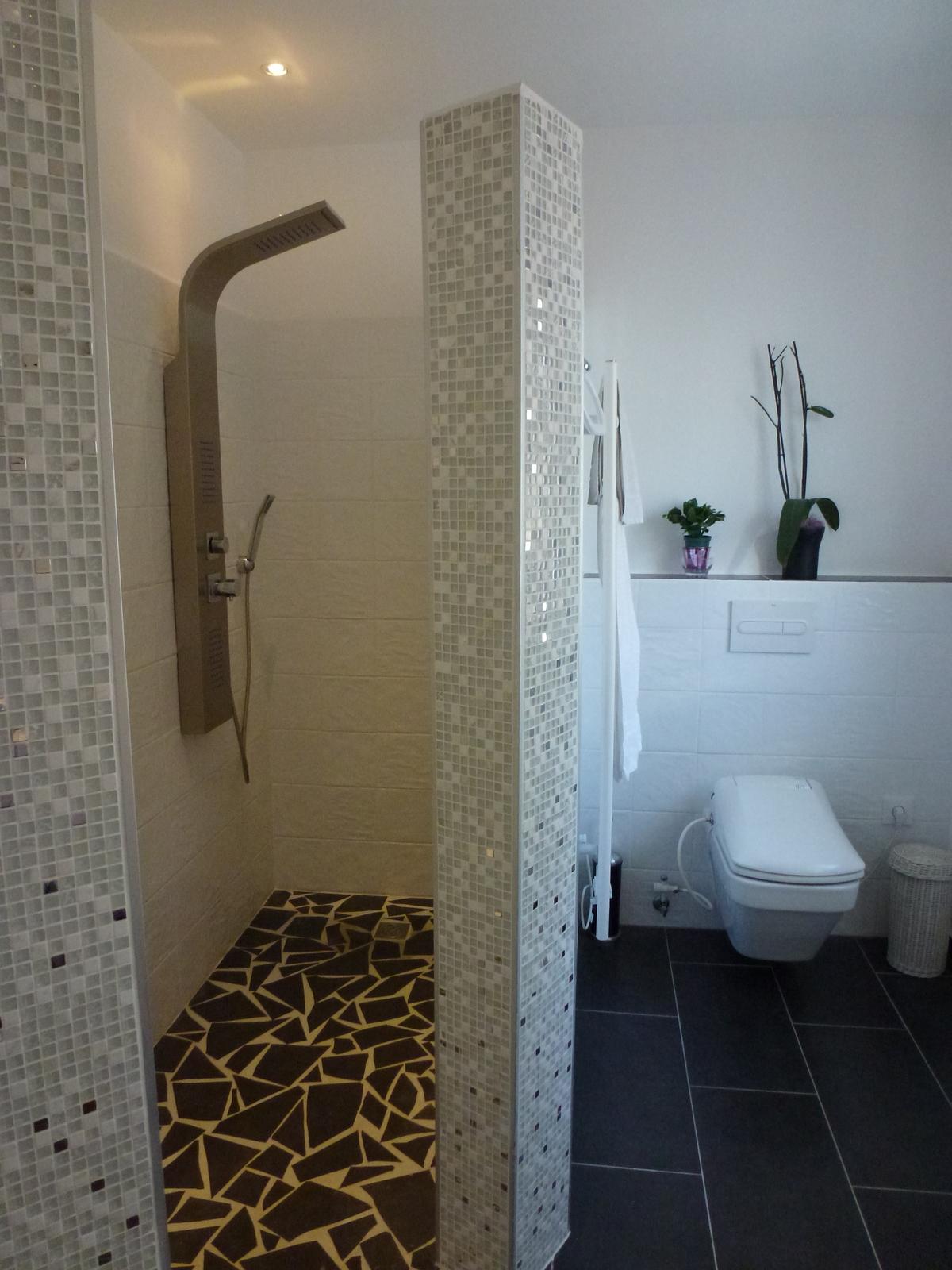 Unsere Neue Dusche